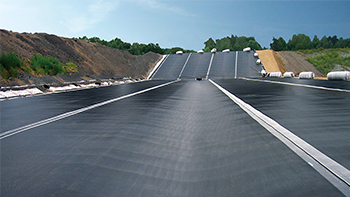 Geomembrane for Hoghways